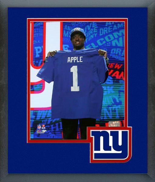 Eli Apple 2016 NFL Draft NY Giants #10 Draft Pick -11 x 14 Matted/Framed Photo