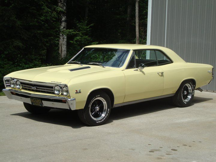 ◆1967 Chevy Chevelle SS 396◆..Re-pin Brought to you by agents at #HouseofInsurance in #EugeneOregon for #AutoInsurance