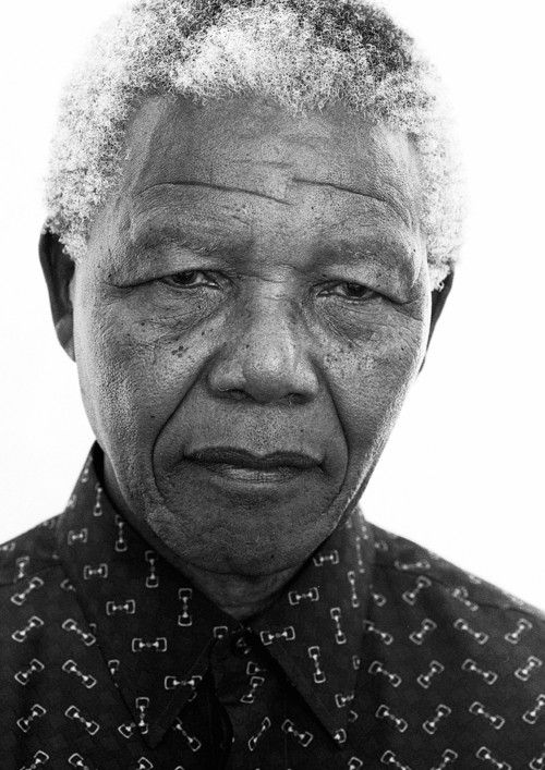Nelson Mandela, Cape Town, 1997. From a collection of images by Jillian Edelstein. Click through to view the collection.
