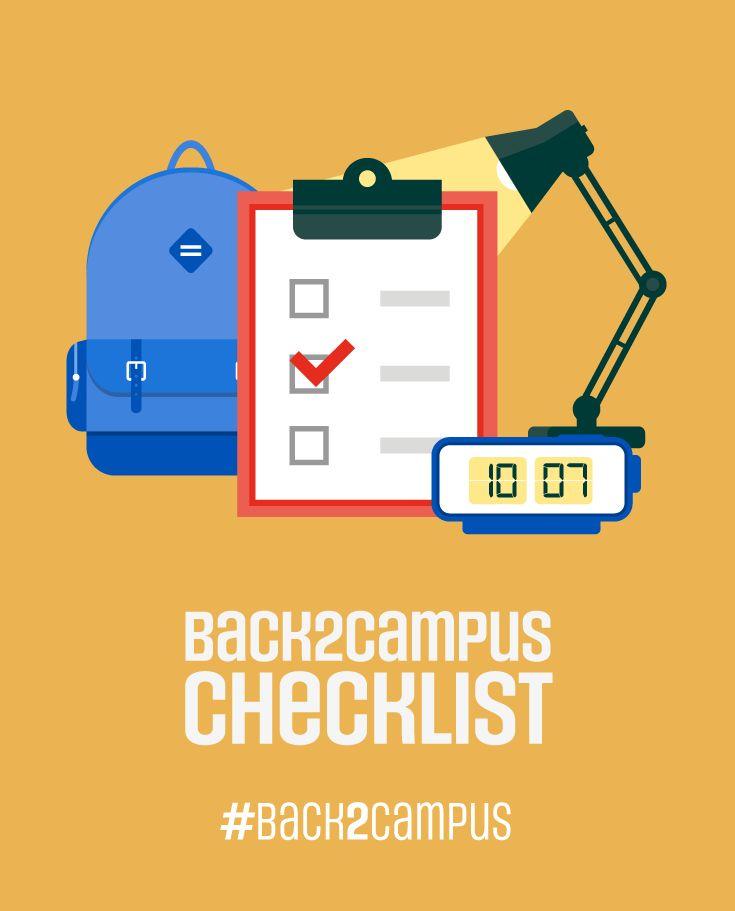 Do you need help with your Back2Campus checklist? #back2campus #searscanada #checklist