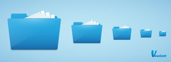 Quick Tip: How to Create a Clean Style Folder Icon   Vectortuts+