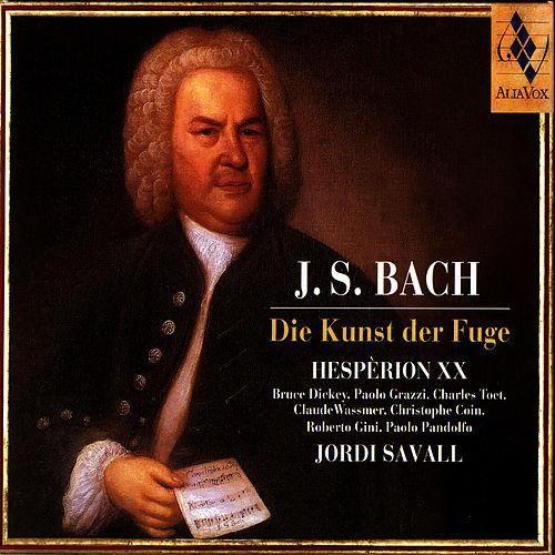 J.S. Bach: Die Kunst Der Fuge de Hespèrion XXI|Jordi Savall