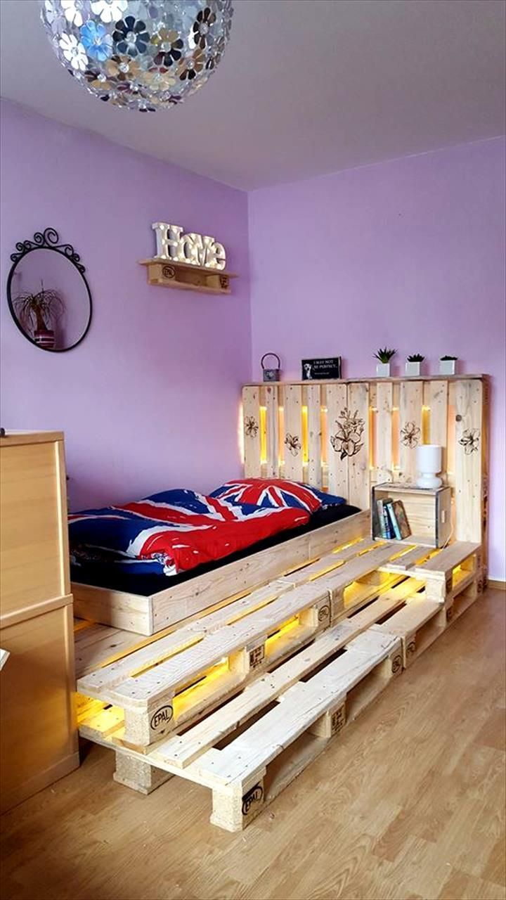 Single pallet bed frame - Best 25 Pallet Toddler Bed Ideas On Pinterest Kids Pallet Bed Diy Toddler Bed Pallet And Kids Furniture Inspiration