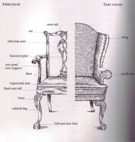 Like a medical illustration...with a chair instead of - 14 Best Parts Of A Chair Images On Pinterest Reading Chairs