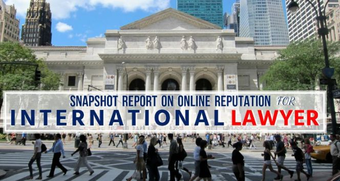 """Dr. Miinala Marketing has announced that they are now offering free snapshot reports for International Lawyer. In these reports the online marketing company provides information related to the reputation of the international lawyer. A spokesperson for the company says, """"Our goal is to give you a peek into what your business looks like online and how customers may be seeing you."""""""