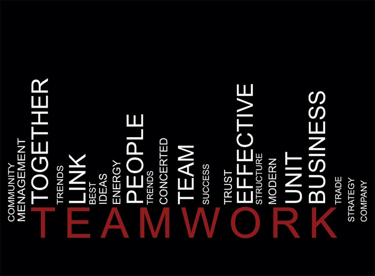 good examples of teamwork in the workplace