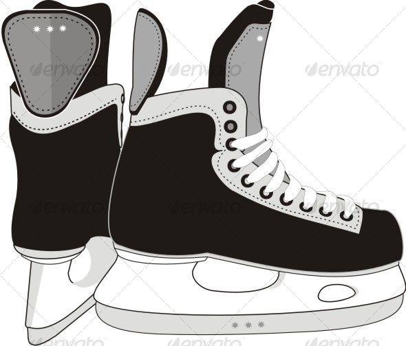 hockey skate template google search crafts pinterest. Black Bedroom Furniture Sets. Home Design Ideas