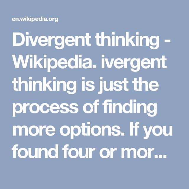 Incredible Design Ideas For Self Confessed Introverts: 17 Best Ideas About Divergent Thinking On Pinterest