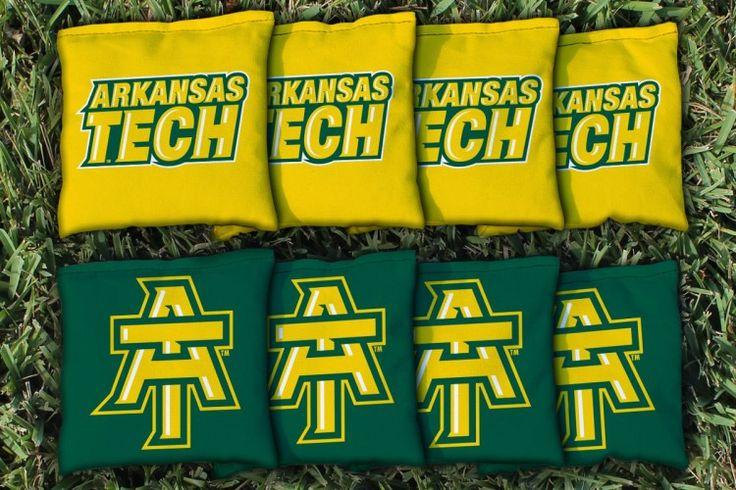 Cornhole All Weather Bag Set - Arkansas Tech University ATU