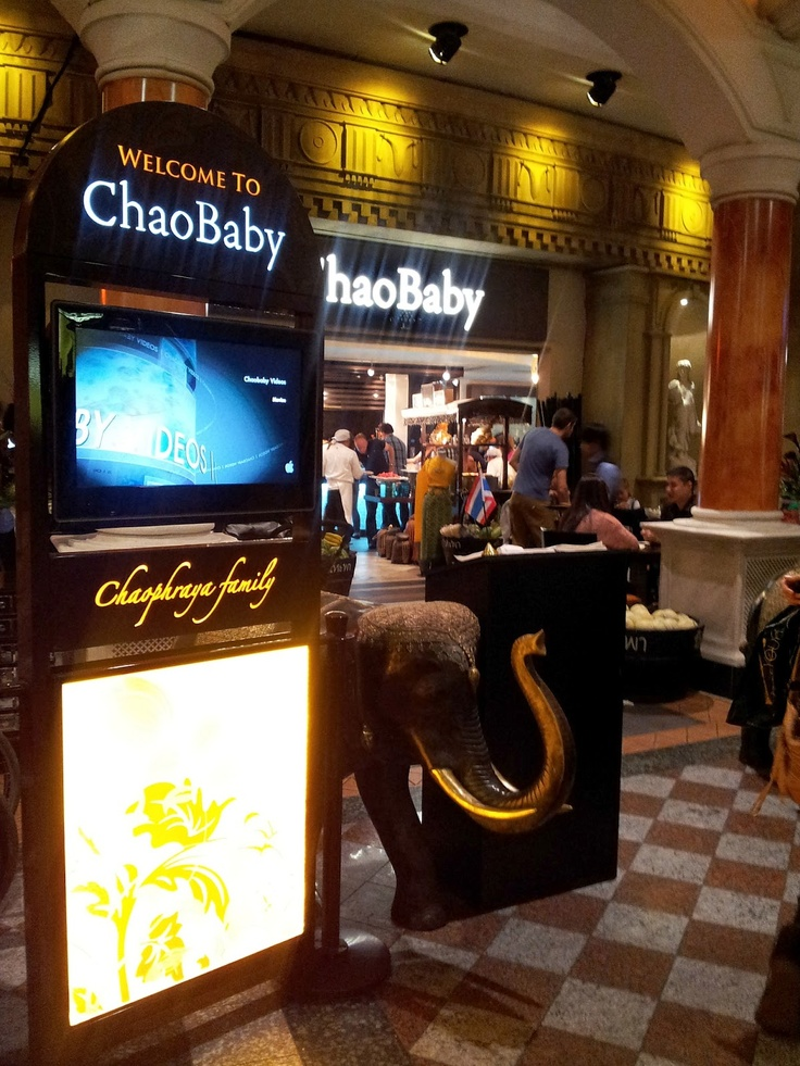 Chaobaby Thai Restaurant in Manchester Trafford Centre