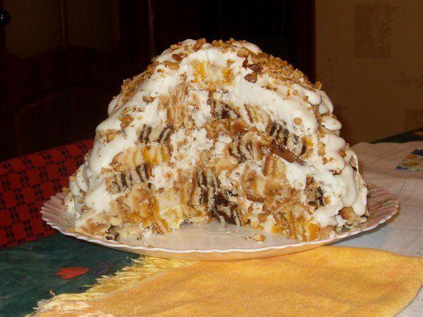 """ТОРТ ХАОС. """"Изюминка"""" этого торта в том, что его можно приготовить заранее, так…"""