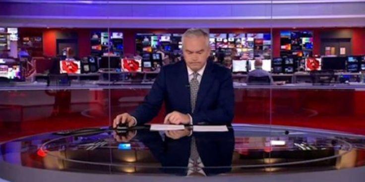 Ce présentateur de la BBC a parfaitement géré son interminable moment de solitude