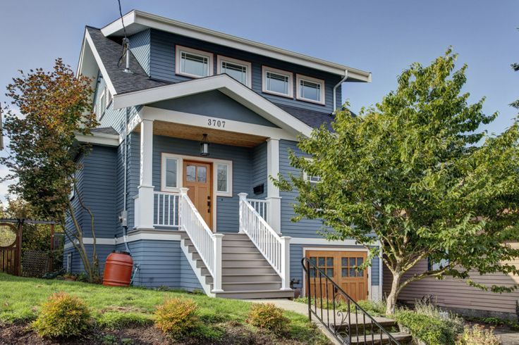 One of our earliest second story additions shows how you can gracefully go up and respect the neighborhood