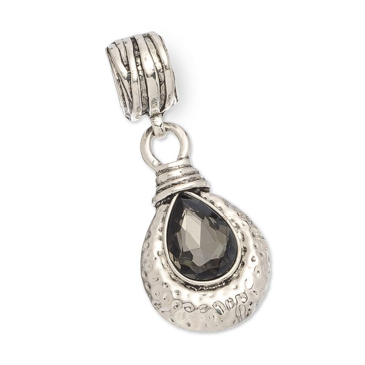 604 best scarves scarf jewelry or scarf charms images on this teardrop and black stone scarf pendant hangs from a striped silver ring and is highlighted by dimpled silver metal surrounding the teardrop stone mozeypictures Choice Image