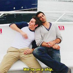 I like how Derek is mostly just seemed mildly annoyed at losing his pillow.  16 Reasons Dylan O'Brien Is The Dork Of Your Dreams