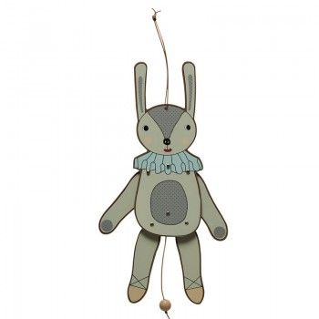 Jumping Jack - Mrs Rabbit