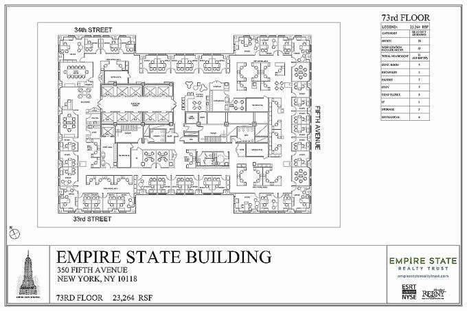 Empire State Building Floor Layout Wikizie Co Empire State Empire State Building How To Plan