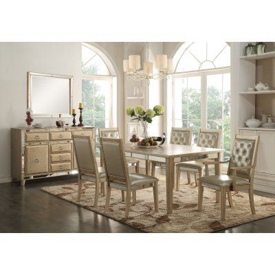 Acme Furniture Voeville Dining Table