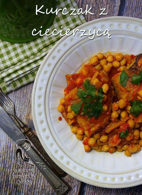 Kulinarne przygody Gatity: Kurczak z ciecierzycą