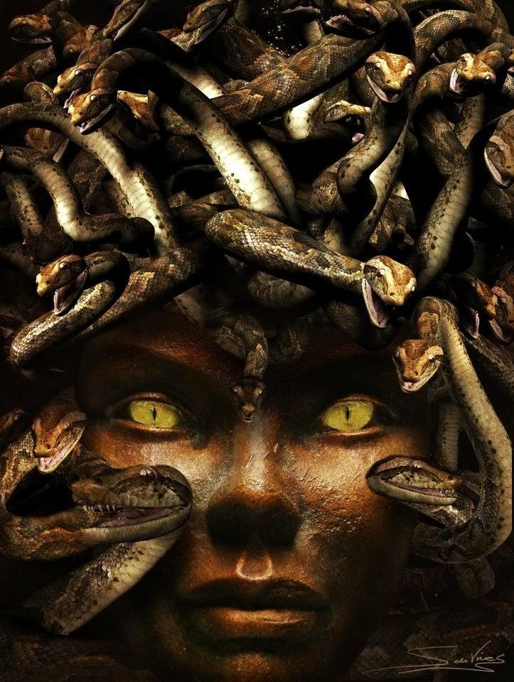 Greek Mythical Creatures Medusa 258 best images about ...