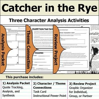 catcher in the rye character descriptions