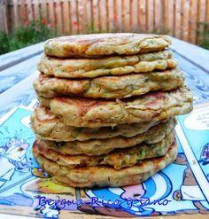TODAS LAS RECETAS : Tortitas integrales de verduras.