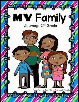 8 best journeys 2nd grade images on pinterest grade 2 second my family journeys unit 1 fandeluxe Images