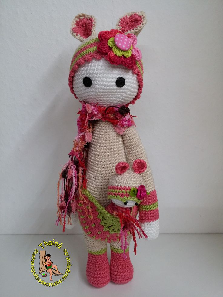 Amigurumi Rose Free Pattern : 408 best images about Crochet Lalylala inspired dolls on ...
