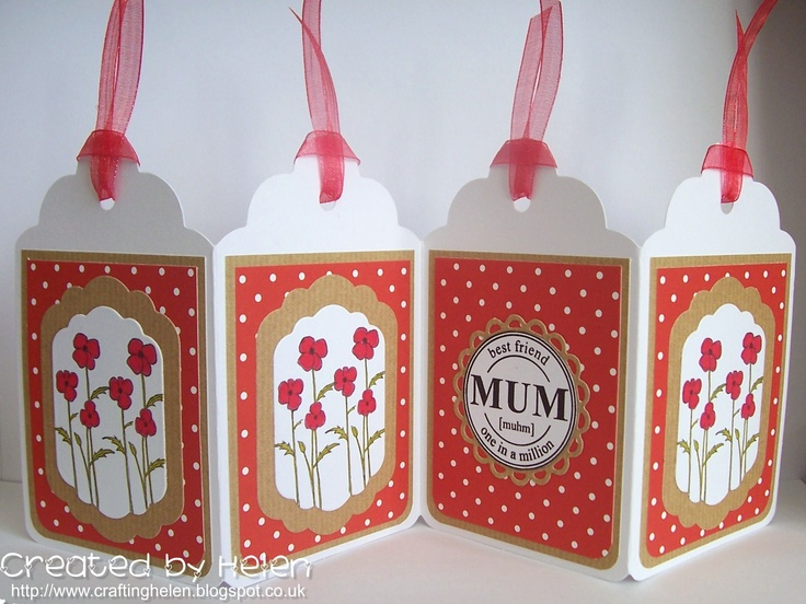 Weekly project for the Little Claire blog made using the new Dinkies 'Poppies' stamp