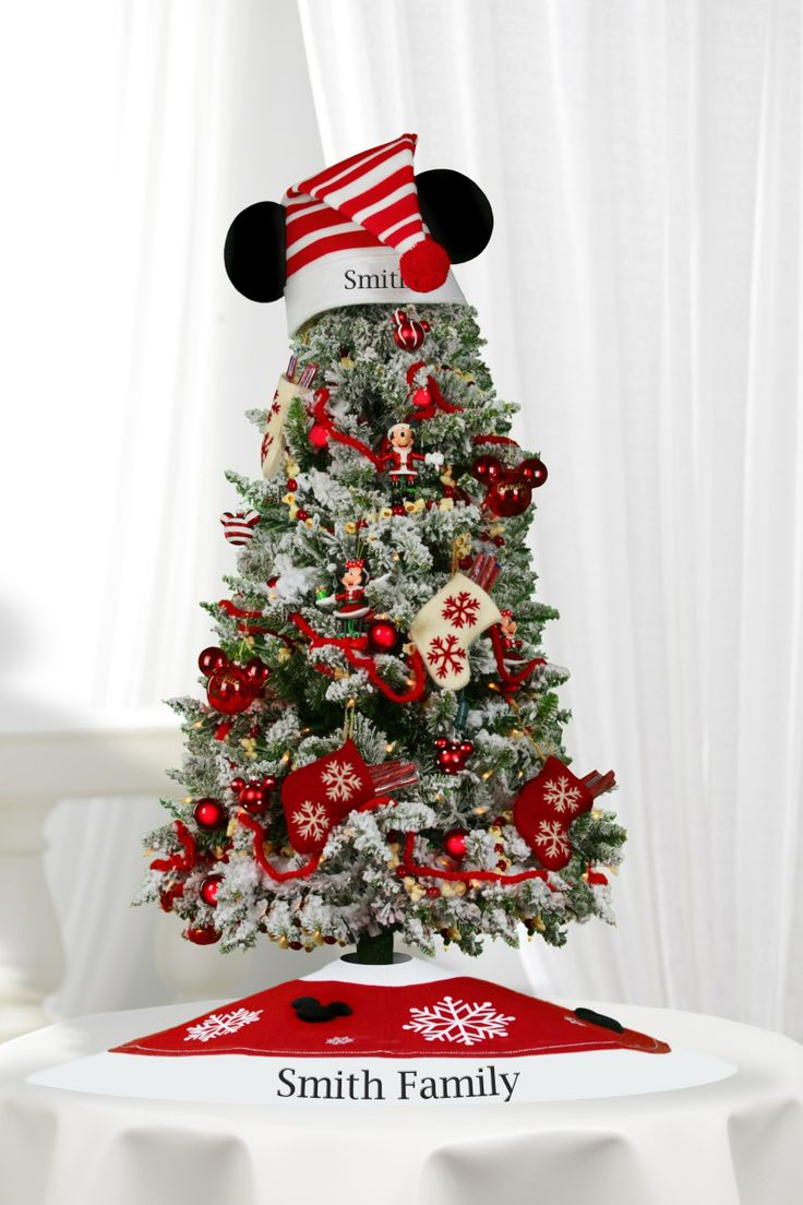 Mickey's Very Merry Christmas Tree  Add Ornaments To This Mickey Tree  From Years We