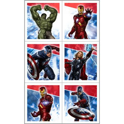 The Avengers Stickers!