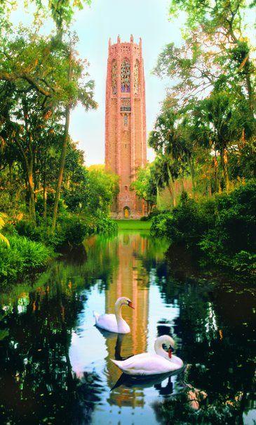 Bok Tower Gardens, Lake Wales, Florida.  This garden contains the highest point in peninsular Florida.