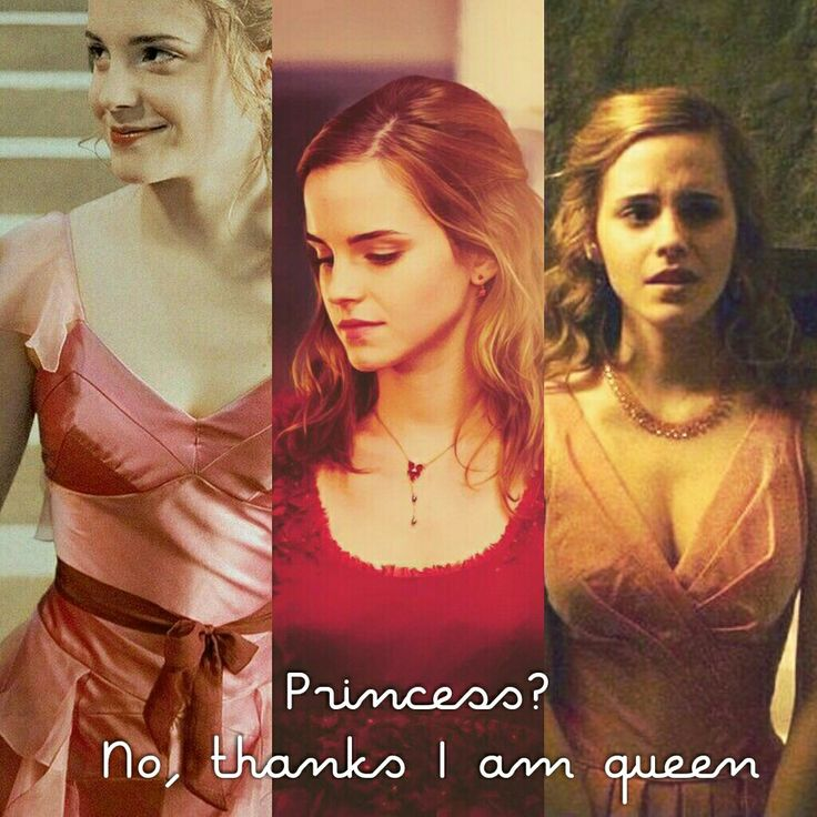 Hermione isn't princess. She is our queen.