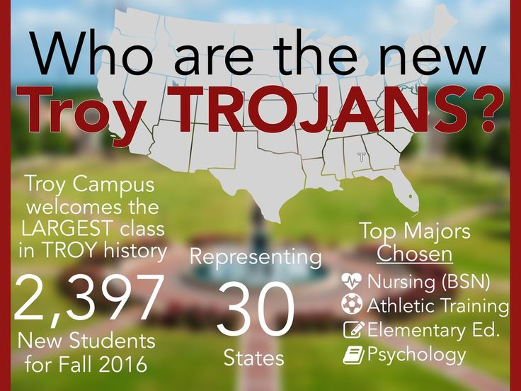 Best Become A Troy Trojan Images On   Colleges Troy