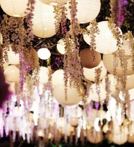sfeervolle lampionnen om jullie bruiloft in de tuin of aan het strand te versieren!