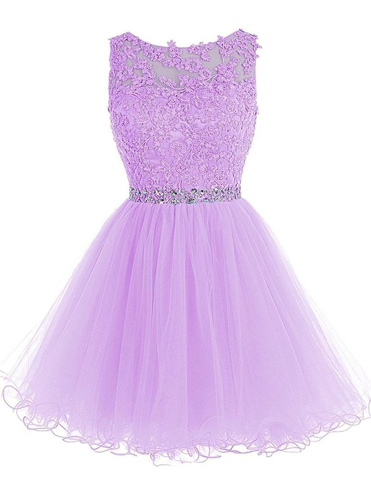 JudyBridal Women Short Beaded Prom Dress Tulle Applique Evening Dress >>> Want to know more, click on the image. (This is an affiliate link and I receive a commission for the sales)