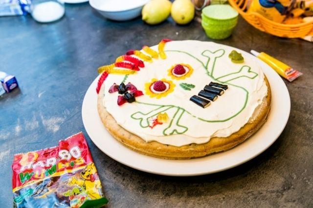 Halloweenská bublanina - Halloween cake