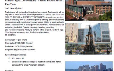 Tych ofert pracy nie trzeba rekomendować… – top of the top Work&Travel USA z OneGlobe!