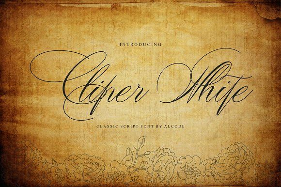 Cliper White (Intro Sale) by Alcode on @creativemarket