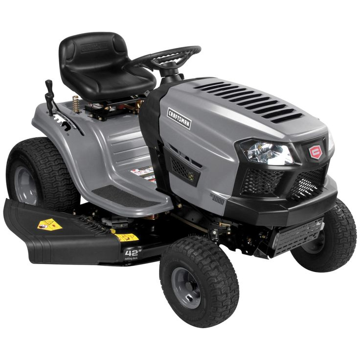 1000 Ideas About Craftsman Riding Lawn Mower On Pinterest