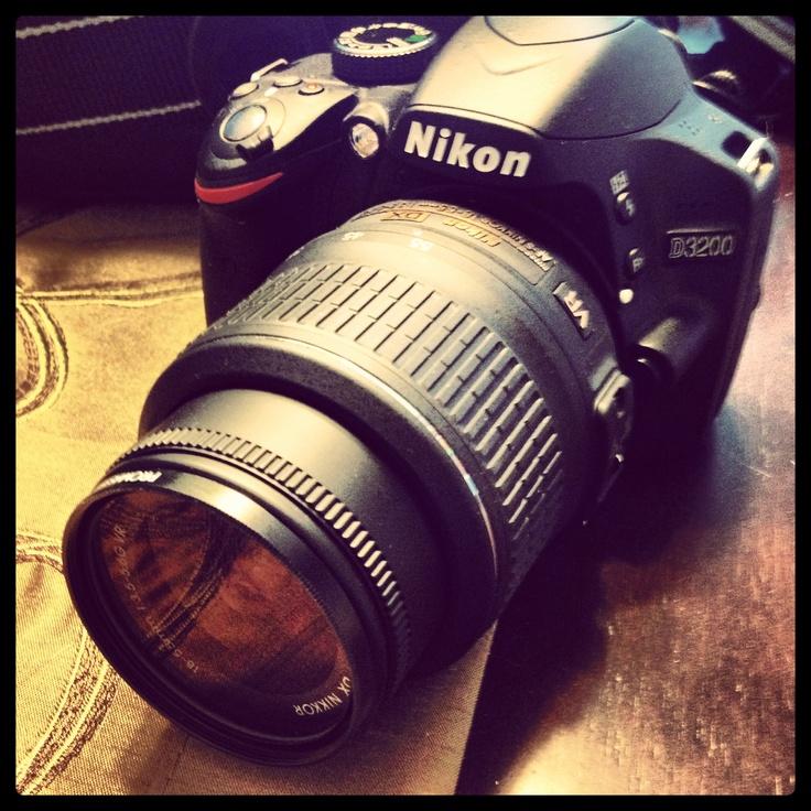 My Nikon D3200 <3