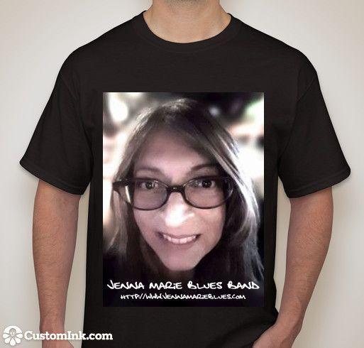 Jenna Marie Blues Band - Shawn McDonald T Shirt