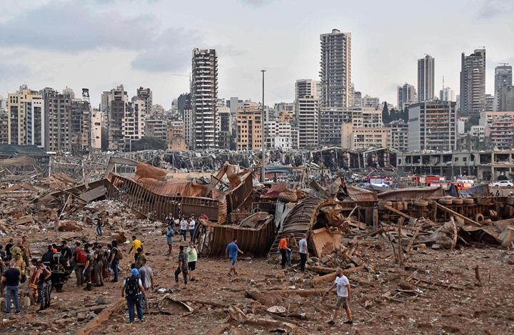 8 1 Billion Lebanon S Initial Losses From The Beirut Port Explosion Beirut Explosion Beirut Explosion