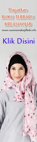 kreasi jilbab terbaru