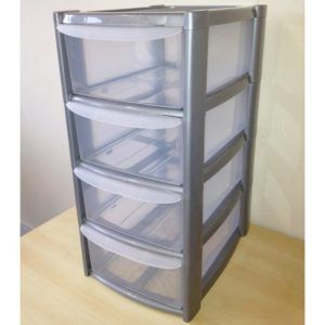 Small Plastic Storage Box With Drawers