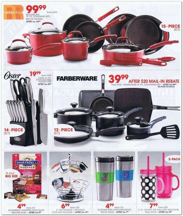 GREAT COOKWARE DEALS @G Team Black Friday Gordmans Black Friday 2013 Ad Page 19