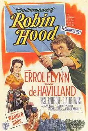 Robin Hood, Errol #Flynn