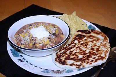 chicken taco soup - crockpot: Chicken Tacos, Sweet Treats, Cheesy Chicken, Chicken Taco Soup, Quick Easy Flatbread, Quick Flatbread, Soup W Flatbread, Creamy Cheesy