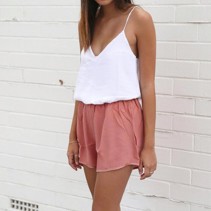 Reef camisole and shorts sewing pattern inspiration