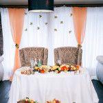 wedding decor of presidium!  свадебный декор президиума.